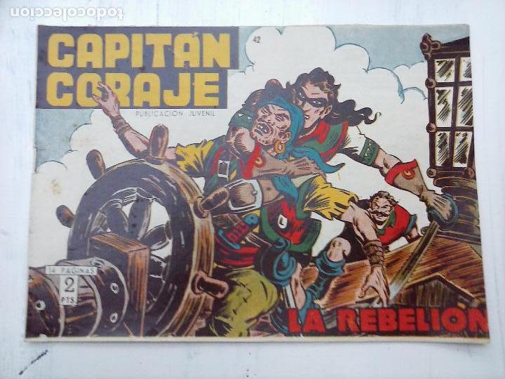 Tebeos: EL CAPITÁN CORAJE ORIGINAL TORAY 1958 COMPLETA 1 AL 44 IRANZO, SUELTA, VER TODAS LAS PORTADAS - Foto 109 - 105026571