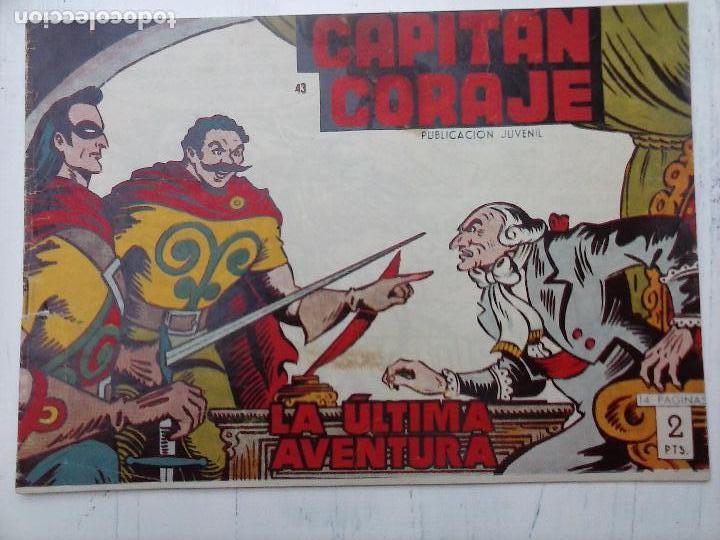 Tebeos: EL CAPITÁN CORAJE ORIGINAL TORAY 1958 COMPLETA 1 AL 44 IRANZO, SUELTA, VER TODAS LAS PORTADAS - Foto 110 - 105026571