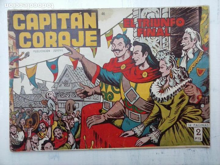 Tebeos: EL CAPITÁN CORAJE ORIGINAL TORAY 1958 COMPLETA 1 AL 44 IRANZO, SUELTA, VER TODAS LAS PORTADAS - Foto 111 - 105026571