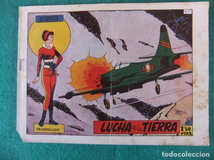 HOMBRES INTREPIDOS Nº 74 CESAR METEOR (Tebeos y Comics - Toray - Otros)