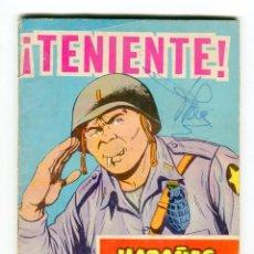 Tebeos: HAZAÑAS BELICAS - GORILA - Nº 226 ¡TENIENTE! AÑO 1967. Lote 105069207