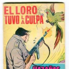 Tebeos: HAZAÑAS BELICAS - GORILA - Nº 227 EL LORO TUVO LA CULPA AÑO 1967. Lote 105069631
