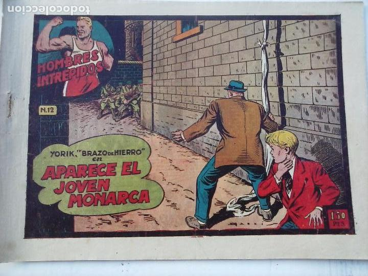 Tebeos: YORIK BRAZO DE HIERRO - HOMBRES INTRÉPIDOS COMPLETA ORIGINAL TORAY - MUY BUEN ESTADO - VER PORTADAS - Foto 9 - 105124839