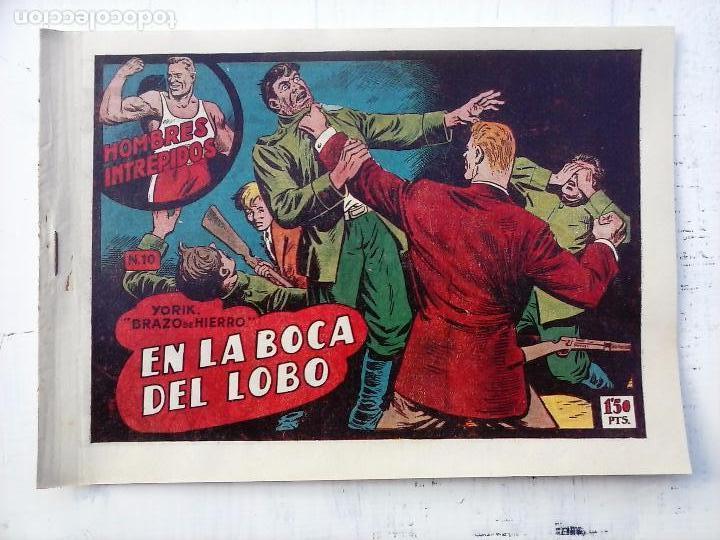 Tebeos: YORIK BRAZO DE HIERRO - HOMBRES INTRÉPIDOS COMPLETA ORIGINAL TORAY - MUY BUEN ESTADO - VER PORTADAS - Foto 11 - 105124839