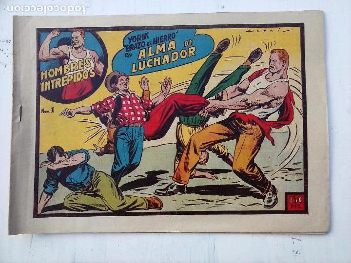 Tebeos: YORIK BRAZO DE HIERRO - HOMBRES INTRÉPIDOS COMPLETA ORIGINAL TORAY - MUY BUEN ESTADO - VER PORTADAS - Foto 15 - 105124839