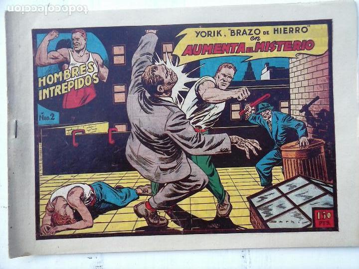 Tebeos: YORIK BRAZO DE HIERRO - HOMBRES INTRÉPIDOS COMPLETA ORIGINAL TORAY - MUY BUEN ESTADO - VER PORTADAS - Foto 16 - 105124839