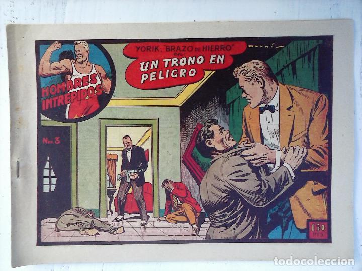 Tebeos: YORIK BRAZO DE HIERRO - HOMBRES INTRÉPIDOS COMPLETA ORIGINAL TORAY - MUY BUEN ESTADO - VER PORTADAS - Foto 17 - 105124839