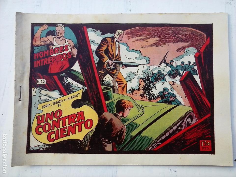 Tebeos: YORIK BRAZO DE HIERRO - HOMBRES INTRÉPIDOS COMPLETA ORIGINAL TORAY - MUY BUEN ESTADO - VER PORTADAS - Foto 18 - 105124839