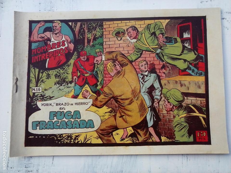 Tebeos: YORIK BRAZO DE HIERRO - HOMBRES INTRÉPIDOS COMPLETA ORIGINAL TORAY - MUY BUEN ESTADO - VER PORTADAS - Foto 21 - 105124839