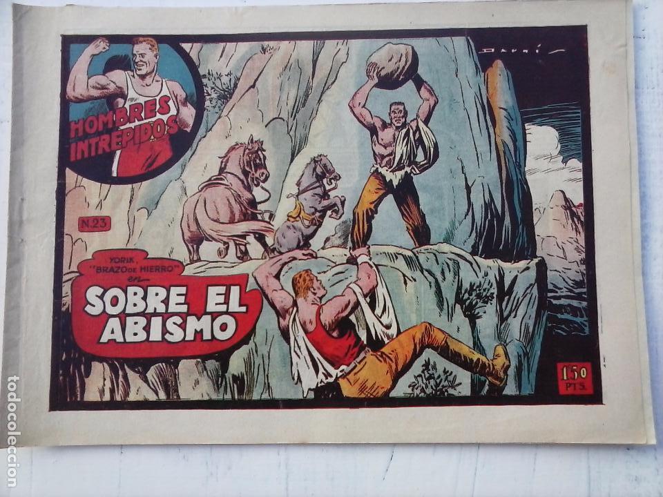 Tebeos: YORIK BRAZO DE HIERRO - HOMBRES INTRÉPIDOS COMPLETA ORIGINAL TORAY - MUY BUEN ESTADO - VER PORTADAS - Foto 25 - 105124839