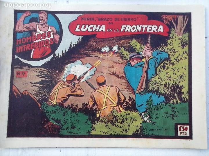 Tebeos: YORIK BRAZO DE HIERRO - HOMBRES INTRÉPIDOS COMPLETA ORIGINAL TORAY - MUY BUEN ESTADO - VER PORTADAS - Foto 27 - 105124839
