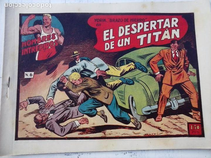 Tebeos: YORIK BRAZO DE HIERRO - HOMBRES INTRÉPIDOS COMPLETA ORIGINAL TORAY - MUY BUEN ESTADO - VER PORTADAS - Foto 30 - 105124839