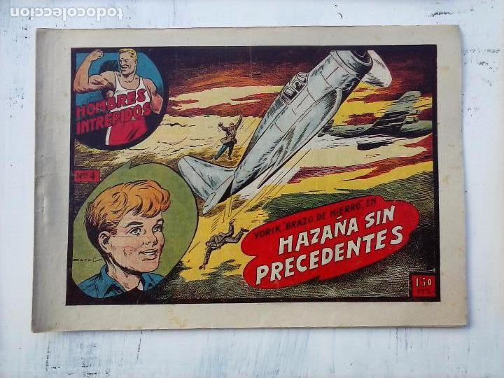 Tebeos: YORIK BRAZO DE HIERRO - HOMBRES INTRÉPIDOS COMPLETA ORIGINAL TORAY - MUY BUEN ESTADO - VER PORTADAS - Foto 32 - 105124839