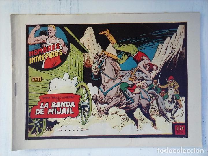 Tebeos: YORIK BRAZO DE HIERRO - HOMBRES INTRÉPIDOS COMPLETA ORIGINAL TORAY - MUY BUEN ESTADO - VER PORTADAS - Foto 33 - 105124839