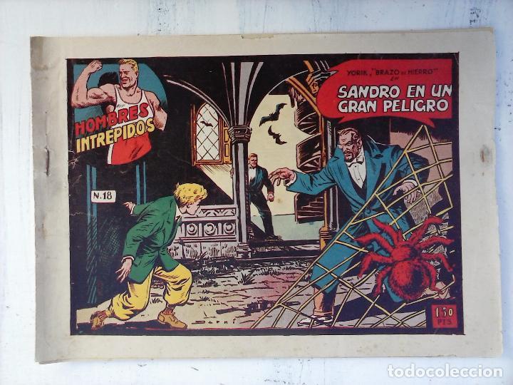 Tebeos: YORIK BRAZO DE HIERRO - HOMBRES INTRÉPIDOS COMPLETA ORIGINAL TORAY - MUY BUEN ESTADO - VER PORTADAS - Foto 34 - 105124839