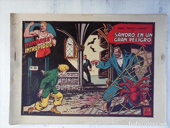 Tebeos: YORIK BRAZO DE HIERRO - HOMBRES INTRÉPIDOS COMPLETA ORIGINAL TORAY - MUY BUEN ESTADO - VER PORTADAS - Foto 35 - 105124839