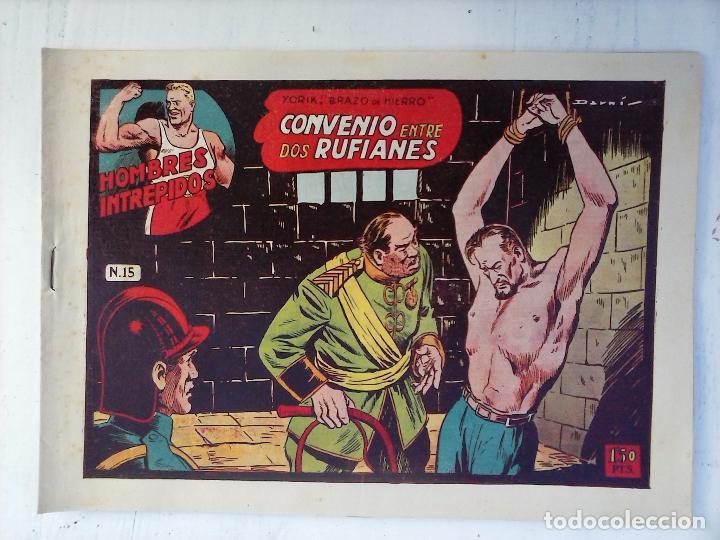 Tebeos: YORIK BRAZO DE HIERRO - HOMBRES INTRÉPIDOS COMPLETA ORIGINAL TORAY - MUY BUEN ESTADO - VER PORTADAS - Foto 36 - 105124839
