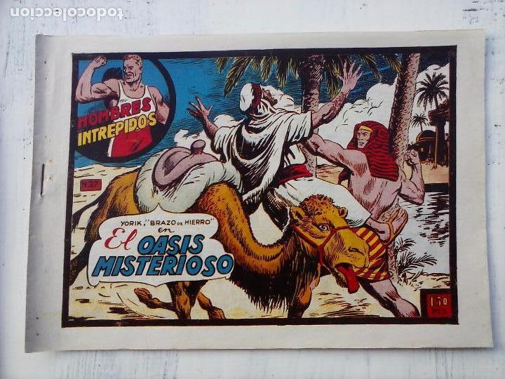 Tebeos: YORIK BRAZO DE HIERRO - HOMBRES INTRÉPIDOS COMPLETA ORIGINAL TORAY - MUY BUEN ESTADO - VER PORTADAS - Foto 41 - 105124839