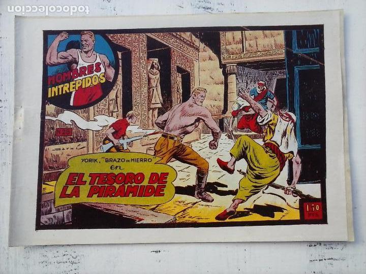 Tebeos: YORIK BRAZO DE HIERRO - HOMBRES INTRÉPIDOS COMPLETA ORIGINAL TORAY - MUY BUEN ESTADO - VER PORTADAS - Foto 42 - 105124839