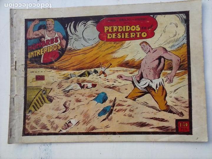 Tebeos: YORIK BRAZO DE HIERRO - HOMBRES INTRÉPIDOS COMPLETA ORIGINAL TORAY - MUY BUEN ESTADO - VER PORTADAS - Foto 43 - 105124839