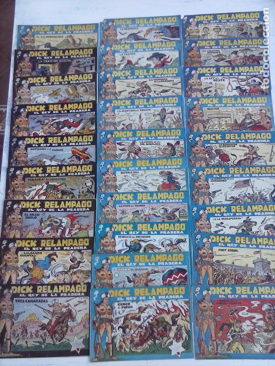 DICK RELAMPAGO EL REY DE LA PRADERA ORIGINAL COMPLETA 1959 TORAY - G.IRANZO, VER PORTADAS Y MÁS (Tebeos y Comics - Toray - Dick Relampago)