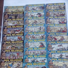 Tebeos: DICK RELAMPAGO EL REY DE LA PRADERA ORIGINAL COMPLETA 1959 TORAY - G.IRANZO, VER PORTADAS Y MÁS. Lote 105125851