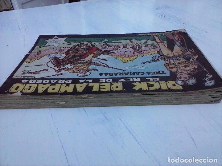 Tebeos: DICK RELAMPAGO EL REY DE LA PRADERA ORIGINAL COMPLETA 1959 TORAY - G.IRANZO, VER PORTADAS Y MÁS - Foto 2 - 105125851