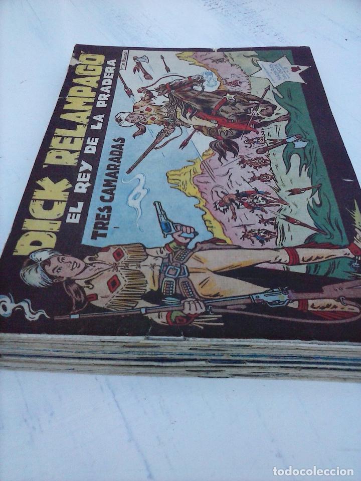 Tebeos: DICK RELAMPAGO EL REY DE LA PRADERA ORIGINAL COMPLETA 1959 TORAY - G.IRANZO, VER PORTADAS Y MÁS - Foto 3 - 105125851