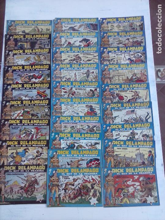 Tebeos: DICK RELAMPAGO EL REY DE LA PRADERA ORIGINAL COMPLETA 1959 TORAY - G.IRANZO, VER PORTADAS Y MÁS - Foto 4 - 105125851