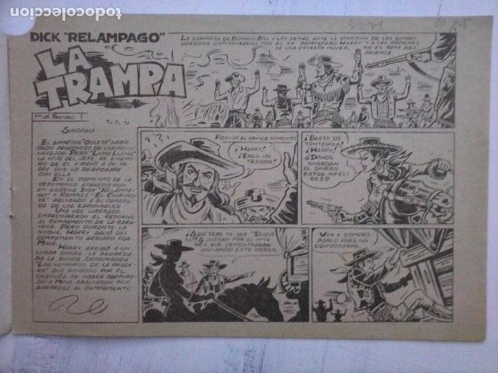Tebeos: DICK RELAMPAGO EL REY DE LA PRADERA ORIGINAL COMPLETA 1959 TORAY - G.IRANZO, VER PORTADAS Y MÁS - Foto 11 - 105125851