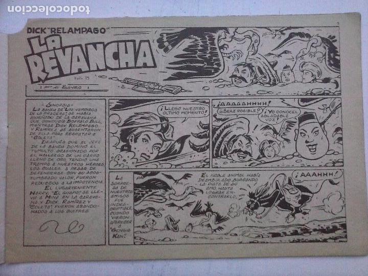 Tebeos: DICK RELAMPAGO EL REY DE LA PRADERA ORIGINAL COMPLETA 1959 TORAY - G.IRANZO, VER PORTADAS Y MÁS - Foto 12 - 105125851