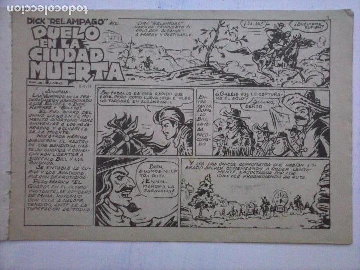 Tebeos: DICK RELAMPAGO EL REY DE LA PRADERA ORIGINAL COMPLETA 1959 TORAY - G.IRANZO, VER PORTADAS Y MÁS - Foto 13 - 105125851