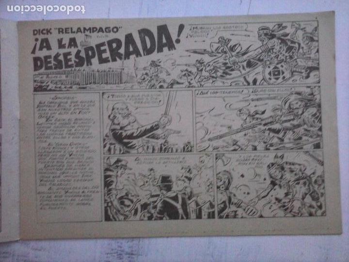 Tebeos: DICK RELAMPAGO EL REY DE LA PRADERA ORIGINAL COMPLETA 1959 TORAY - G.IRANZO, VER PORTADAS Y MÁS - Foto 18 - 105125851