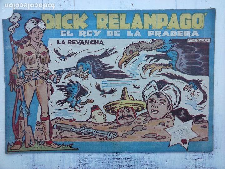 Tebeos: DICK RELAMPAGO EL REY DE LA PRADERA ORIGINAL COMPLETA 1959 TORAY - G.IRANZO, VER PORTADAS Y MÁS - Foto 19 - 105125851