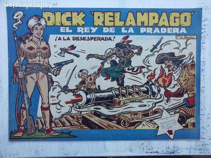 Tebeos: DICK RELAMPAGO EL REY DE LA PRADERA ORIGINAL COMPLETA 1959 TORAY - G.IRANZO, VER PORTADAS Y MÁS - Foto 20 - 105125851