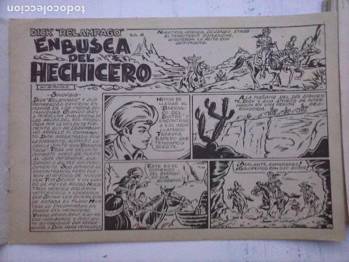 Tebeos: DICK RELAMPAGO EL REY DE LA PRADERA ORIGINAL COMPLETA 1959 TORAY - G.IRANZO, VER PORTADAS Y MÁS - Foto 32 - 105125851