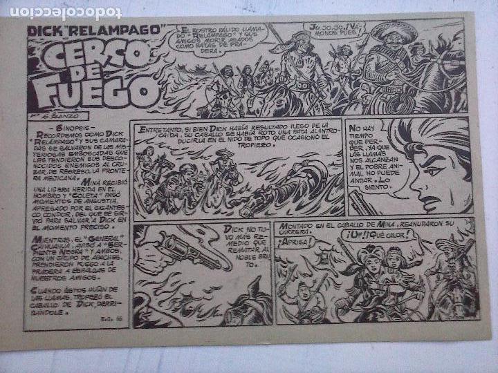 Tebeos: DICK RELAMPAGO EL REY DE LA PRADERA ORIGINAL COMPLETA 1959 TORAY - G.IRANZO, VER PORTADAS Y MÁS - Foto 33 - 105125851