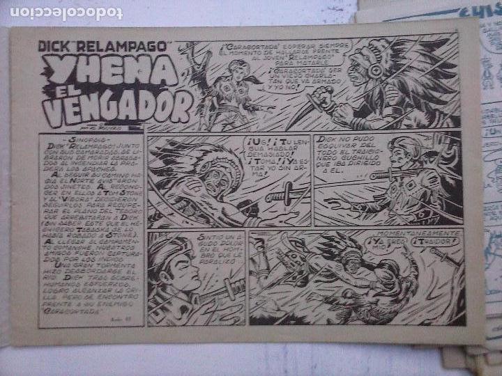 Tebeos: DICK RELAMPAGO EL REY DE LA PRADERA ORIGINAL COMPLETA 1959 TORAY - G.IRANZO, VER PORTADAS Y MÁS - Foto 35 - 105125851