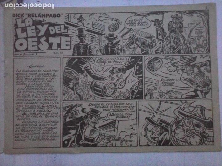 Tebeos: DICK RELAMPAGO EL REY DE LA PRADERA ORIGINAL COMPLETA 1959 TORAY - G.IRANZO, VER PORTADAS Y MÁS - Foto 38 - 105125851