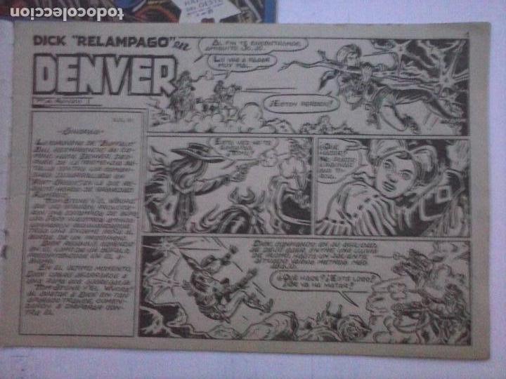 Tebeos: DICK RELAMPAGO EL REY DE LA PRADERA ORIGINAL COMPLETA 1959 TORAY - G.IRANZO, VER PORTADAS Y MÁS - Foto 41 - 105125851