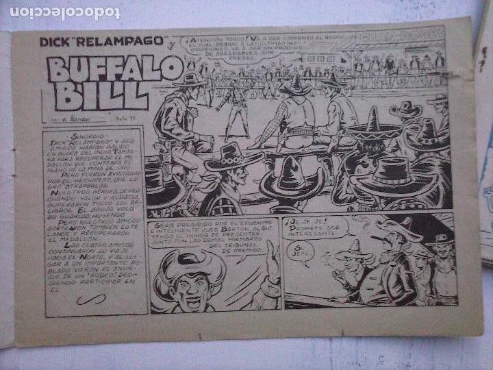 Tebeos: DICK RELAMPAGO EL REY DE LA PRADERA ORIGINAL COMPLETA 1959 TORAY - G.IRANZO, VER PORTADAS Y MÁS - Foto 48 - 105125851
