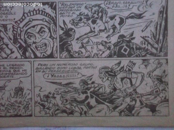 Tebeos: DICK RELAMPAGO EL REY DE LA PRADERA ORIGINAL COMPLETA 1959 TORAY - G.IRANZO, VER PORTADAS Y MÁS - Foto 50 - 105125851