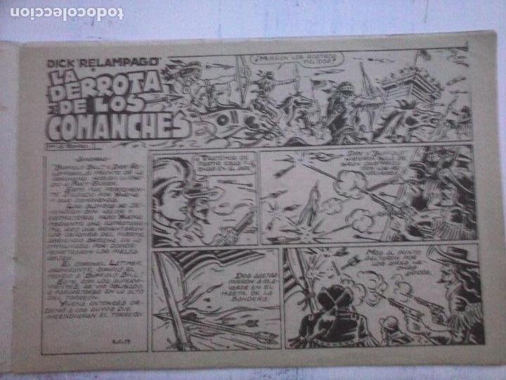 Tebeos: DICK RELAMPAGO EL REY DE LA PRADERA ORIGINAL COMPLETA 1959 TORAY - G.IRANZO, VER PORTADAS Y MÁS - Foto 51 - 105125851
