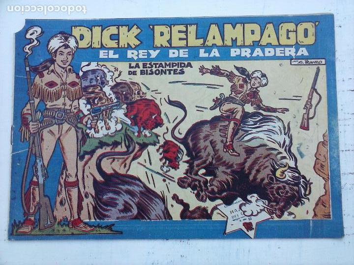 Tebeos: DICK RELAMPAGO EL REY DE LA PRADERA ORIGINAL COMPLETA 1959 TORAY - G.IRANZO, VER PORTADAS Y MÁS - Foto 54 - 105125851