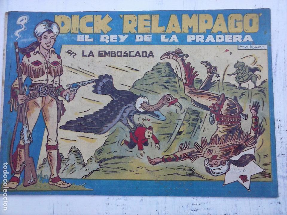 Tebeos: DICK RELAMPAGO EL REY DE LA PRADERA ORIGINAL COMPLETA 1959 TORAY - G.IRANZO, VER PORTADAS Y MÁS - Foto 57 - 105125851