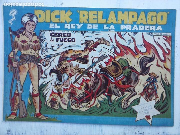 Tebeos: DICK RELAMPAGO EL REY DE LA PRADERA ORIGINAL COMPLETA 1959 TORAY - G.IRANZO, VER PORTADAS Y MÁS - Foto 58 - 105125851