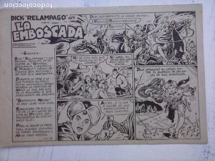 Tebeos: DICK RELAMPAGO EL REY DE LA PRADERA ORIGINAL COMPLETA 1959 TORAY - G.IRANZO, VER PORTADAS Y MÁS - Foto 59 - 105125851