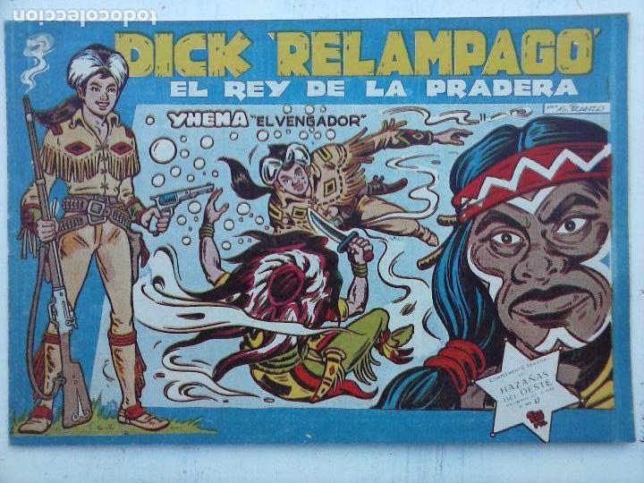 Tebeos: DICK RELAMPAGO EL REY DE LA PRADERA ORIGINAL COMPLETA 1959 TORAY - G.IRANZO, VER PORTADAS Y MÁS - Foto 61 - 105125851