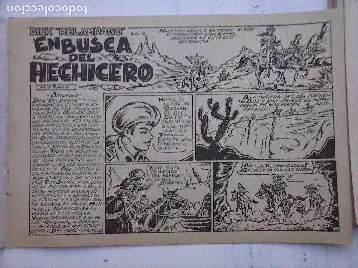 Tebeos: DICK RELAMPAGO EL REY DE LA PRADERA ORIGINAL COMPLETA 1959 TORAY - G.IRANZO, VER PORTADAS Y MÁS - Foto 63 - 105125851