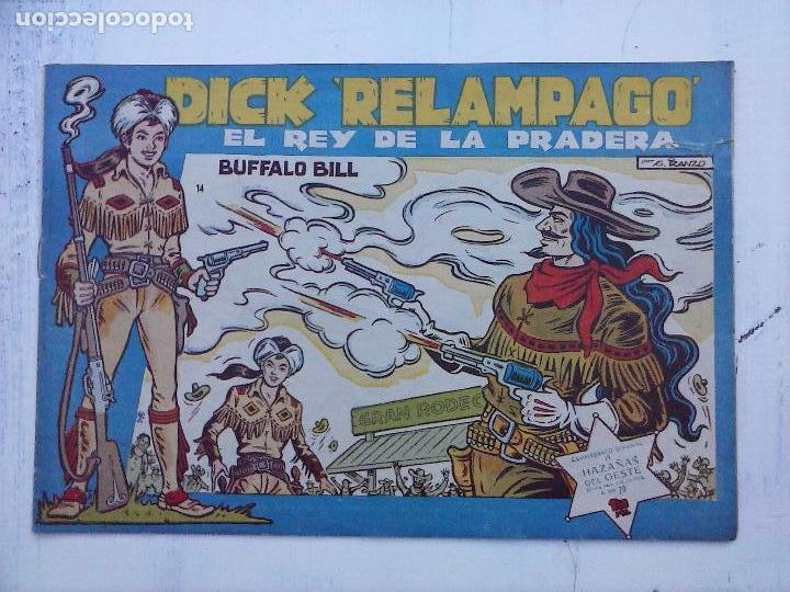 Tebeos: DICK RELAMPAGO EL REY DE LA PRADERA ORIGINAL COMPLETA 1959 TORAY - G.IRANZO, VER PORTADAS Y MÁS - Foto 66 - 105125851